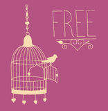как птица освободите Стоковые Изображения