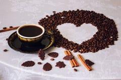Как раз кофе Стоковые Фотографии RF