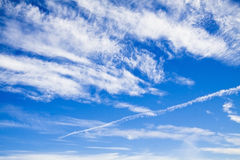 Как раз облака Стоковые Фото