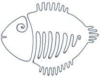 Как раз черные рыбы стоковая фотография rf