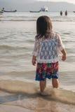Как раз я и море Стоковые Фотографии RF