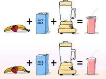 как сделайте smoothie к Стоковые Фото