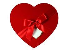 как сердце коробки Стоковые Изображения