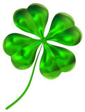 как символ везения листьев клевера 4 хороший Стоковые Изображения RF