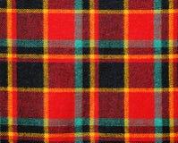 как текстура шотландки ткани предпосылки Стоковые Фото