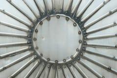 как элемент конструкции металлопластинчатый Стоковое фото RF
