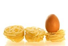 как chikken макаронные изделия ингридиента яичка Стоковые Изображения RF