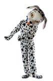 как dalmatian одетьнный человек Стоковые Изображения