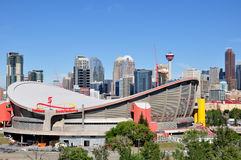 Калгари Saddledome Стоковая Фотография