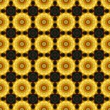 Калейдоскоп золота как картина Стоковые Изображения