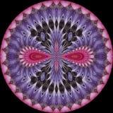 Калейдоскоп 1 цветка Стоковое Изображение