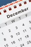 календар декабрь стоковые изображения