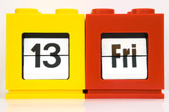 календар еженедельный Стоковые Фото