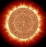 календар майяский иллюстрация штока