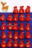 календар пришествия Стоковые Фотографии RF