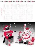 календар 2011 Стоковые Фотографии RF