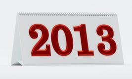 календар 2013 Стоковые Изображения