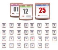 Календар бесплатная иллюстрация