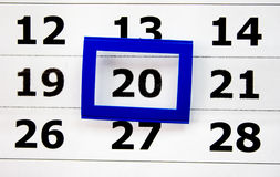 календар Стоковые Фото