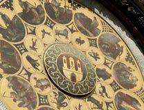 календар prague astronomica Стоковые Изображения