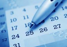 календар Стоковая Фотография