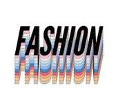 Каллиграфия литерности моды печати вектора фразы моды лозунга графическая иллюстрация штока