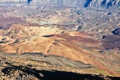 кальдера вулканическая Стоковое Фото