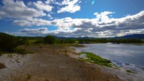 Кальдера Uzon на территории заповедника Kronotsky Камчатский полуостров акции видеоматериалы