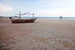 кальмар boat2 стоковая фотография rf
