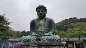 Камакура большой Будда Стоковое Фото