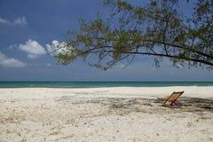 камбодец пляжа красивейший Стоковые Фото