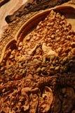 Камбоджа ужинает камень siem скульптуры песка Стоковое Изображение RF