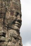 камбоджийская усмешка Стоковое Фото