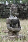 камбоджийский висок камня статуи Стоковое Изображение RF