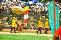 Камбоджа королевское паша presh bayon angkor Siem Reap церемонии vihear Стоковая Фотография RF