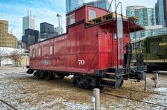 Камбуз на музее Торонто железнодорожном стоковое изображение