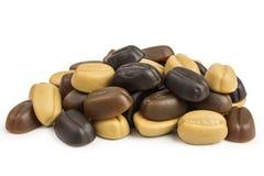 Камедеобразные кофейные зерна конфеты Стоковая Фотография RF
