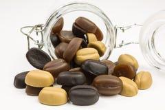 Камедеобразные кофейные зерна конфеты Стоковое Изображение