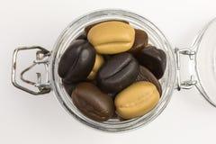 Камедеобразные кофейные зерна конфеты Стоковые Фото