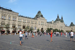 КАМЕДЬ, красная площадь, Москва, Россия Стоковые Изображения RF