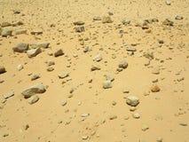Каменистая предпосылка пустыни Стоковая Фотография RF