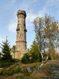 Каменная башня бдительности Стоковые Изображения