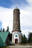 Каменная башня бдительности, Zlaty Chlum, чехия Стоковая Фотография