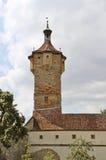 Каменная башня городища Стоковая Фотография RF