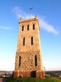 Каменная башня замка в Tonsberg, Vestfold, Норвегия (на верхней части холма) Стоковые Изображения RF