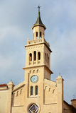 Каменная башня церков Стоковое фото RF