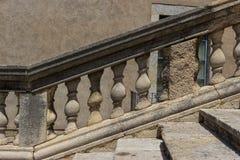 Каменная балюстрада Стоковые Изображения RF