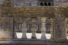 Каменная балюстрада Стоковая Фотография