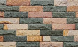 Каменная безшовная стена Стоковое Изображение RF