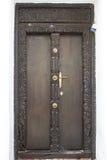 Каменная дверь городка Стоковые Изображения RF